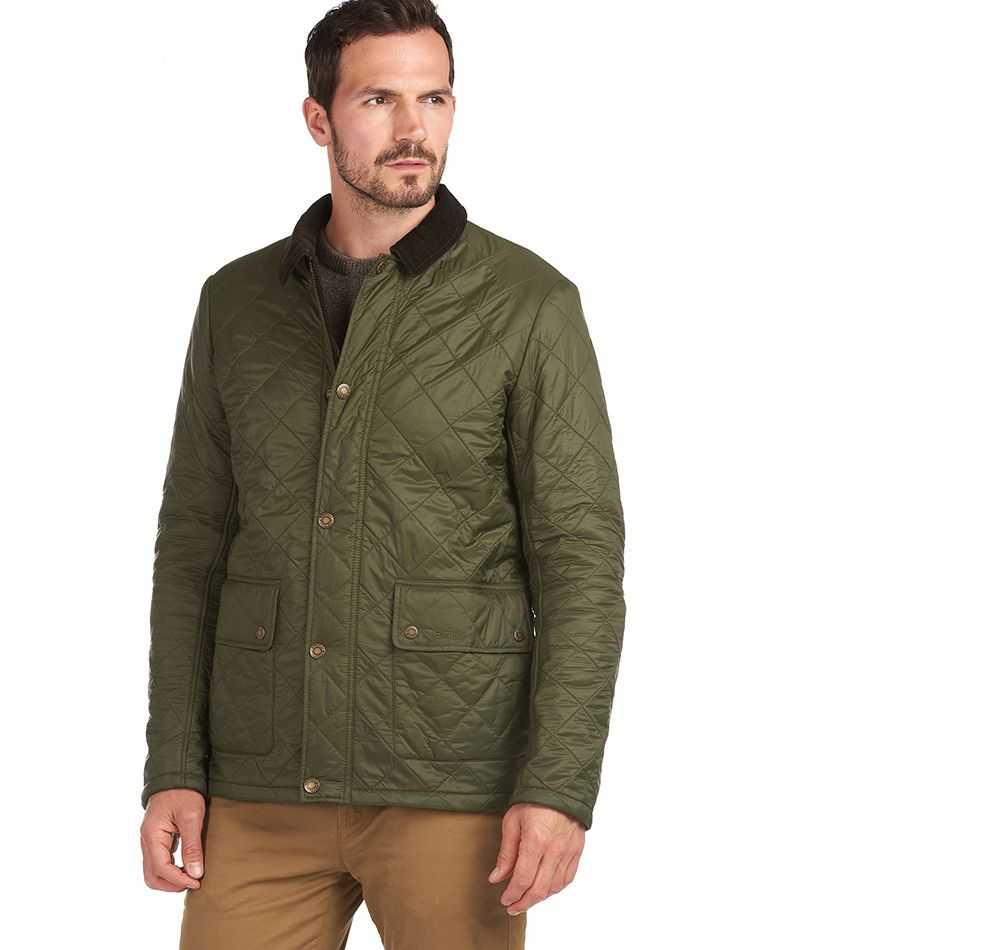 Barbour Denill Polar Fleece Quilted Jacket