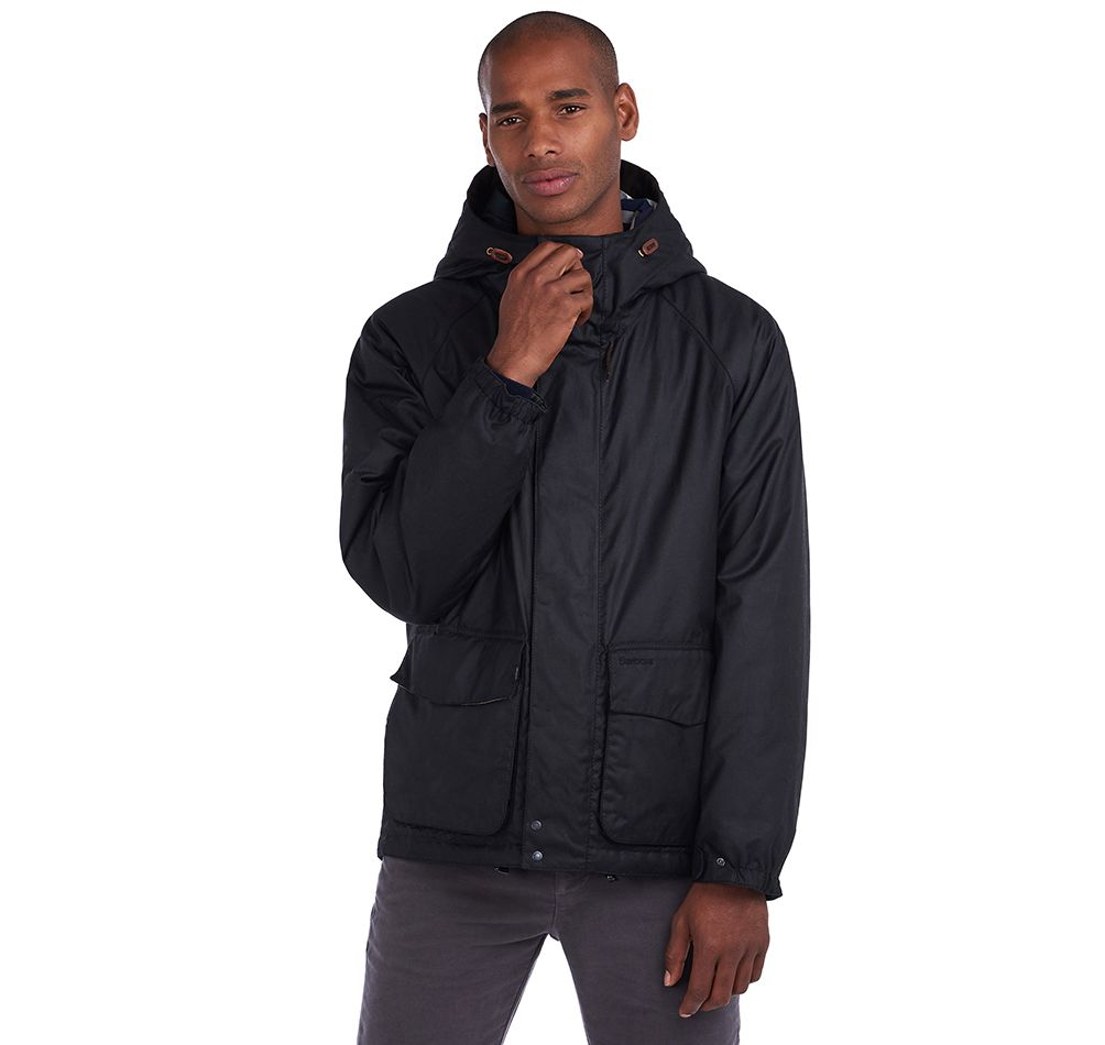 Barbour Grendle Waxed Cotton Jacket