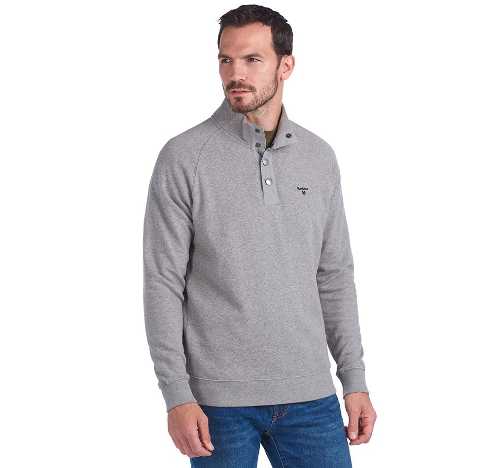 Barbour Half Snap Sweatshirt