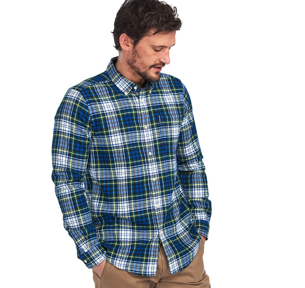 Barbour Highland Check 34 Tailored Shirt