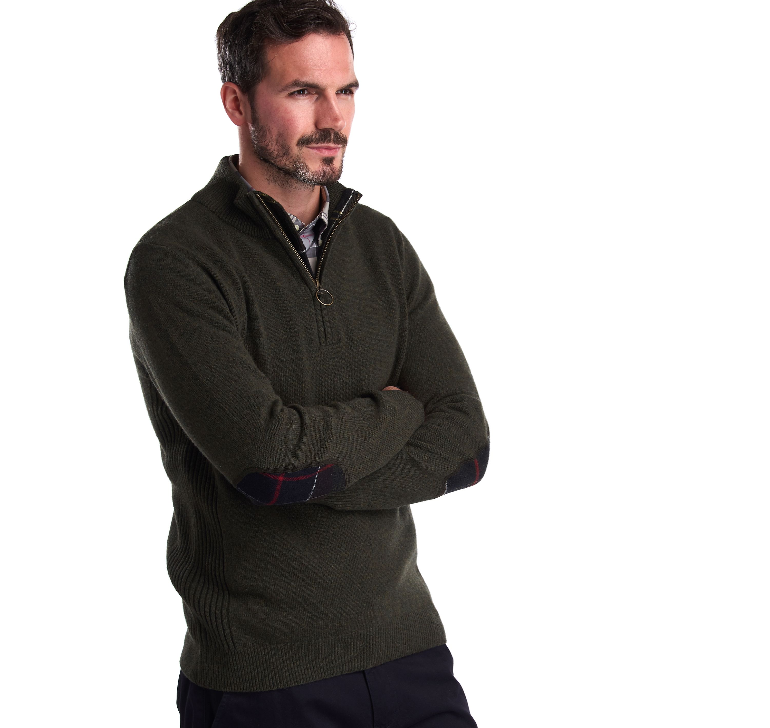 Barbour Holden Half Zip Jumper
