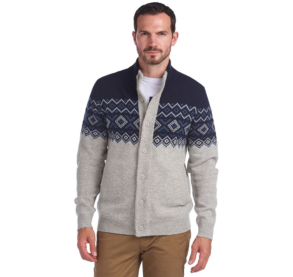 Barbour Kirk Button Through Sweater
