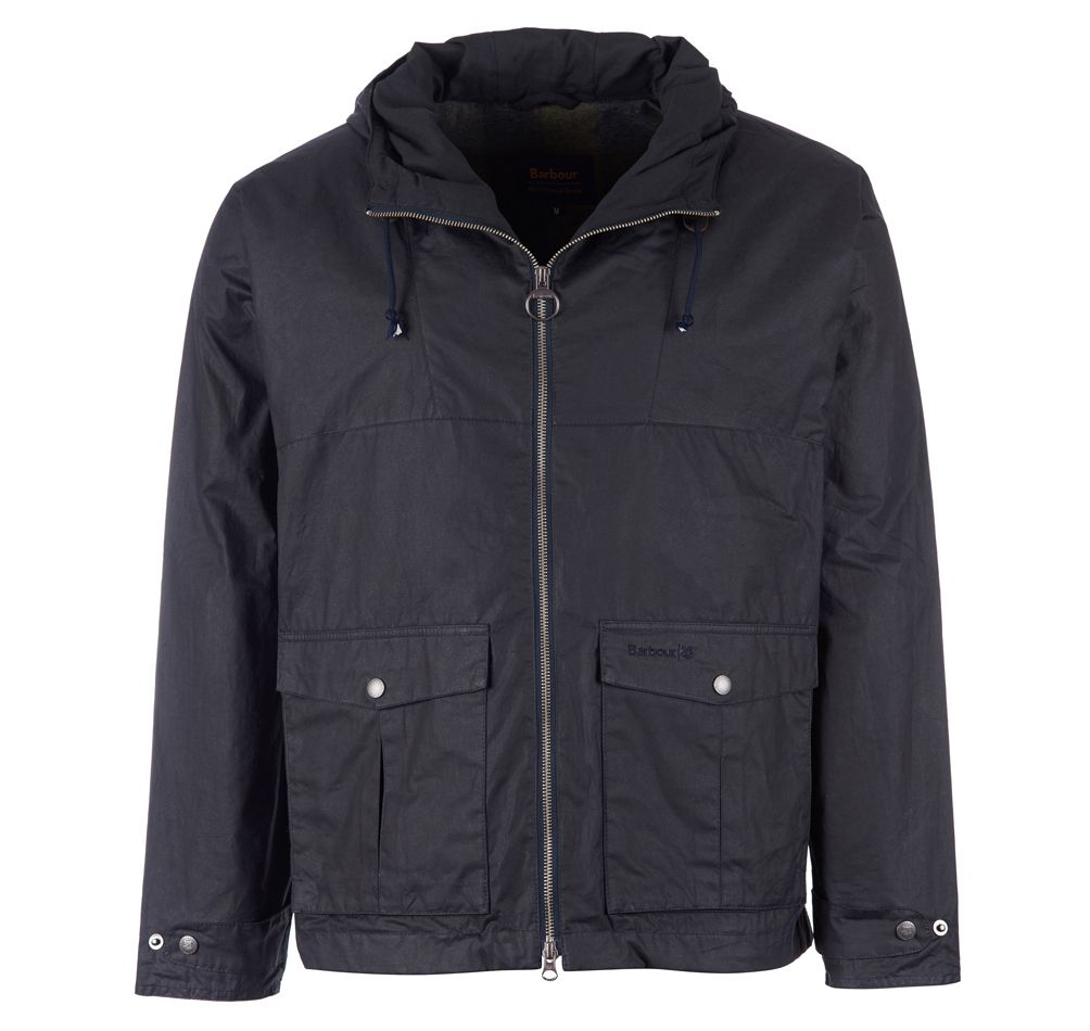 Barbour National Trust Crake Waxed Cotton Jacket