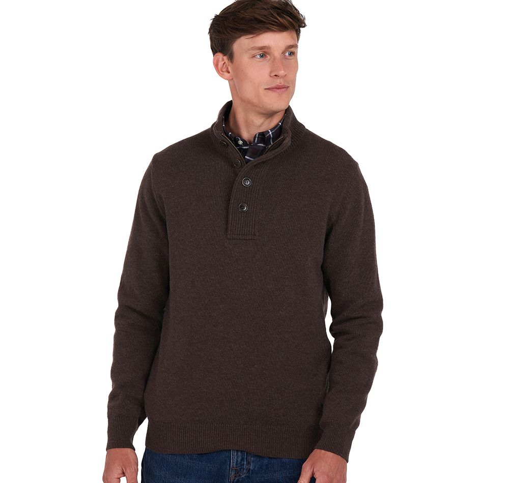 Barbour National Trust Hillside Half Zip Sweater