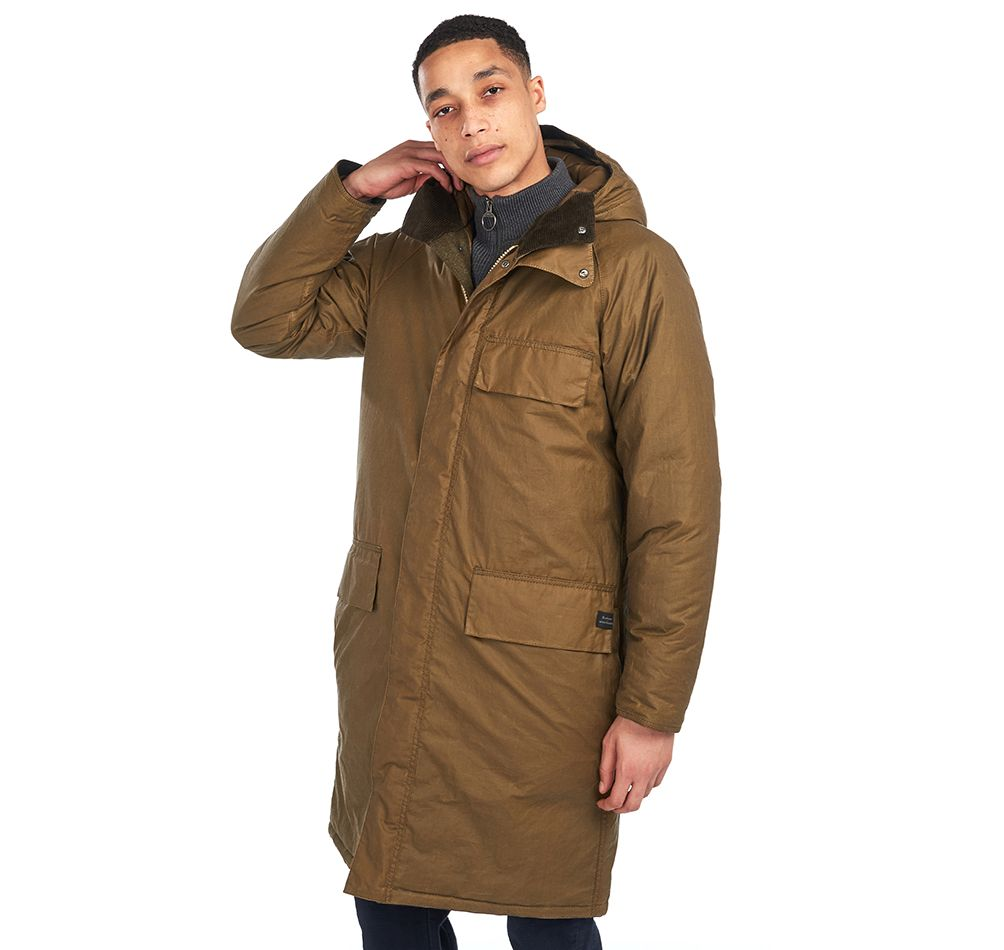 Barbour x Norse Projects Gamefair Waxed Jacket